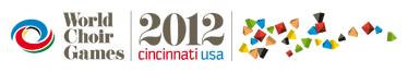 World Choir Games 2012 - Cincinatti